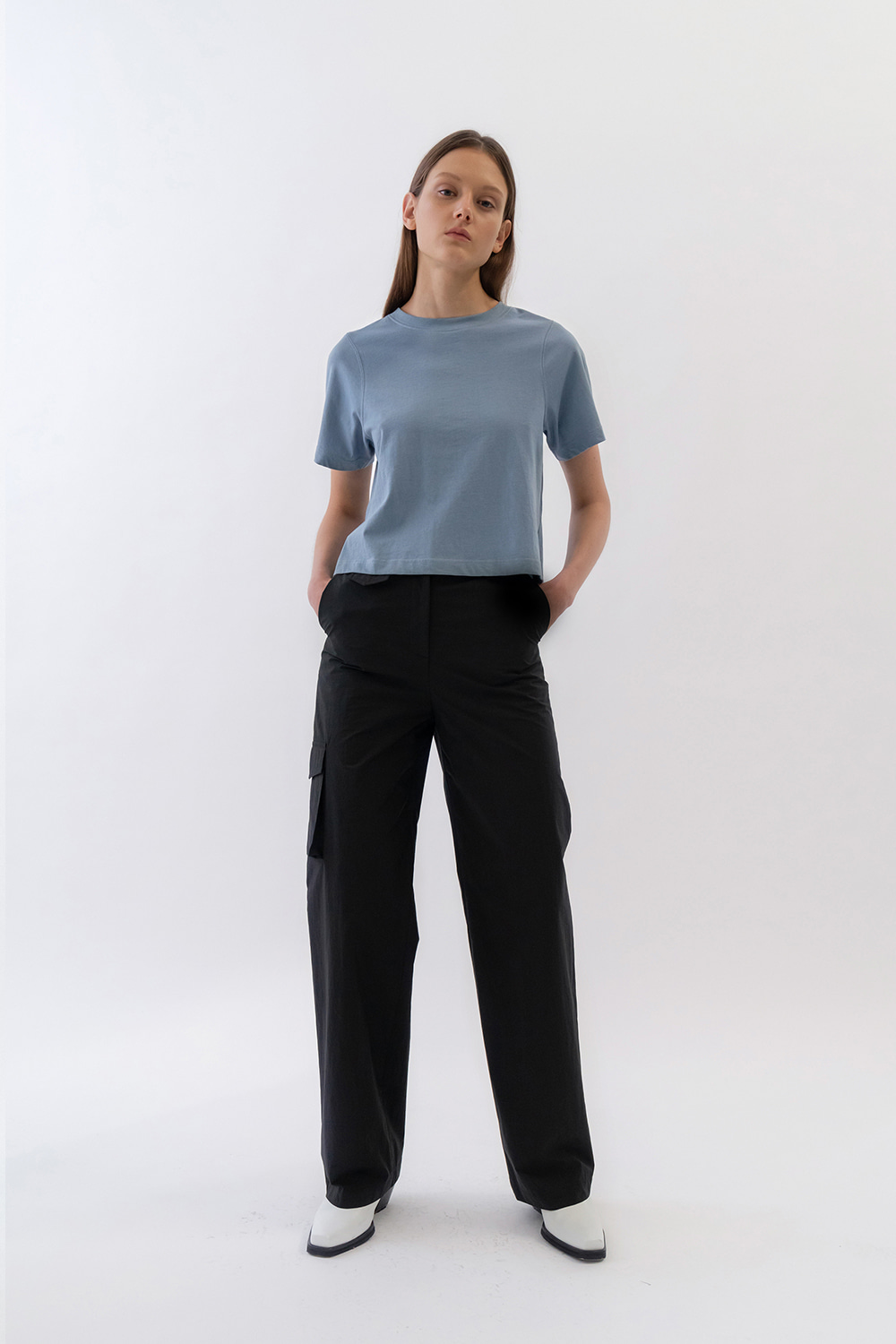 One Pocket Cargo Pants Women [Black]